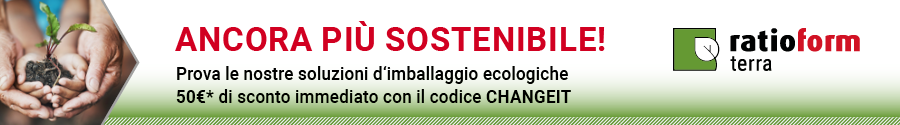 ratioform terra - Rende sostenibile l'imballaggio!